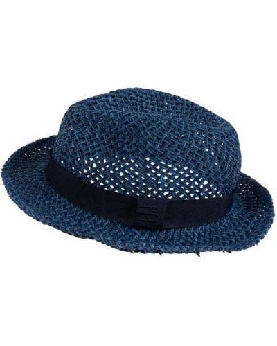 Niebieski kapelusz materiałowy Esprit