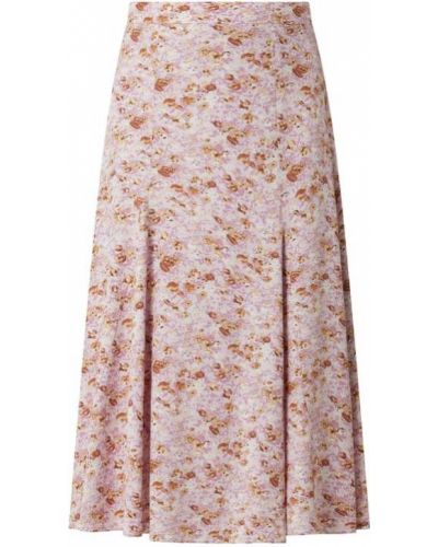 Fioletowa spódnica rozkloszowana z wiskozy Catwalk Junkie