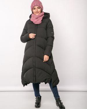 Зимняя куртка утепленная длинная Jetty