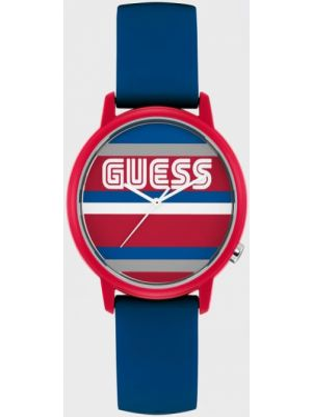Zegarek w paski - biały Guess