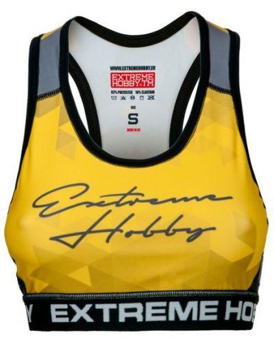 Спортивный топ желтый Extreme Hobby