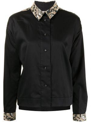 Рубашка с длинным рукавом - черная Antonio Marras