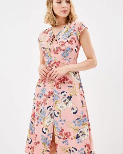Платье весеннее красный Sugarhill Boutique