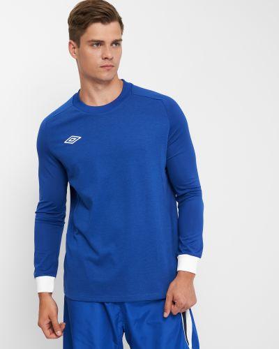 Синяя спортивная лонгслив Umbro