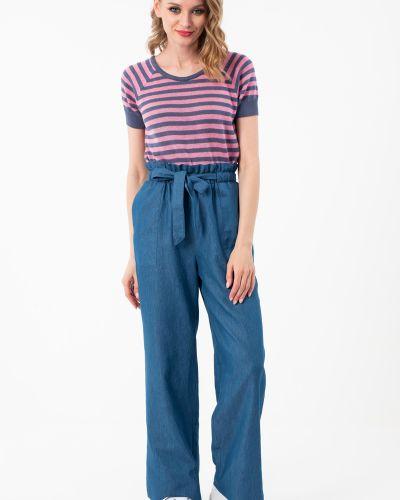 Хлопковые повседневные брюки на резинке Wisell