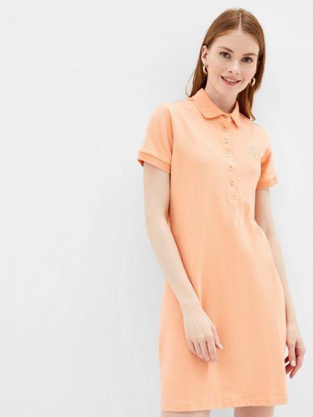 Футбольное оранжевое платье Baon