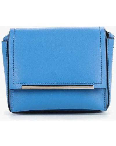 Кожаная сумка - синяя Gianni Conti