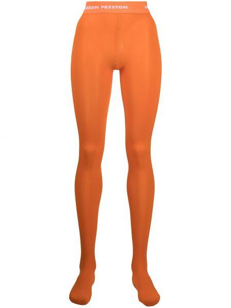 Rajstopy - pomarańczowe Heron Preston