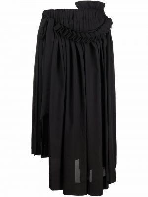 Плиссированная юбка - черная Simone Rocha