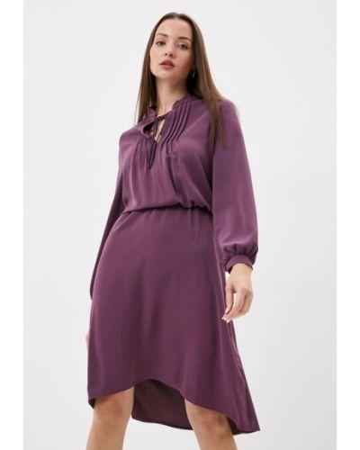 Фиолетовое прямое платье Gregory