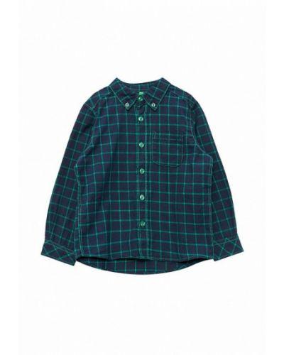 Зеленая рубашка United Colors Of Benetton