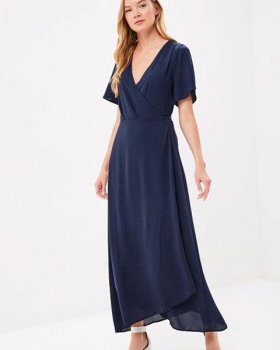 Синее платье весеннее Ichi