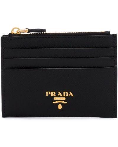 Кошелек кожаный Prada