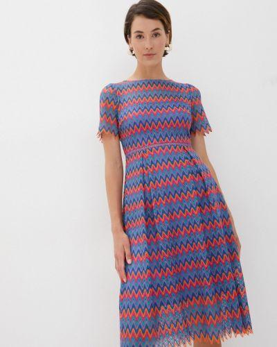 Фиолетовое прямое платье Cavo