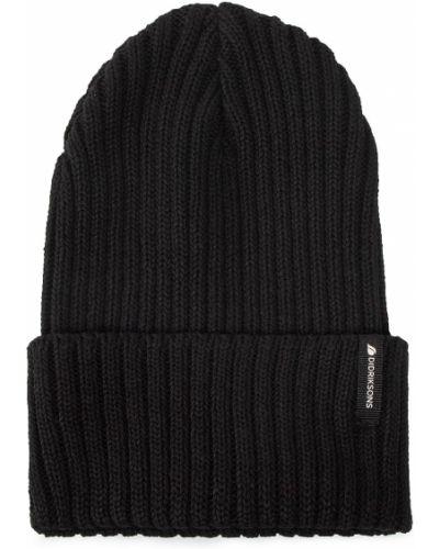 Czarna czapka beanie Didriksons