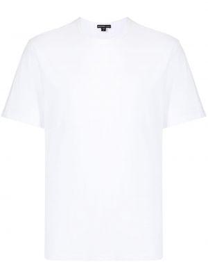 Хлопковая футболка - белая James Perse