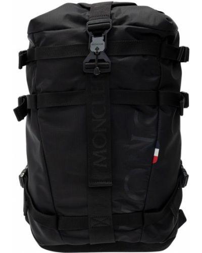 Czarny plecak casual Moncler