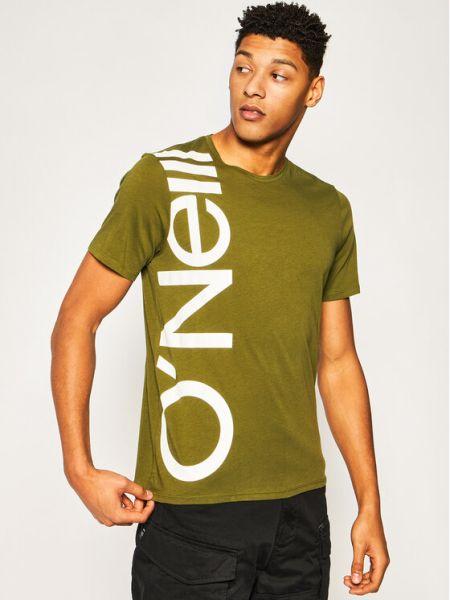 T-shirt - zielona O'neill