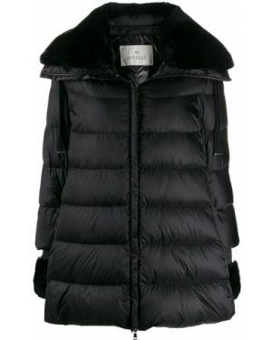Куртка из искусственного меха - черная Hetrego