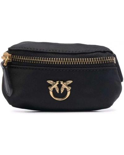 Złoty portfel - czarny Pinko