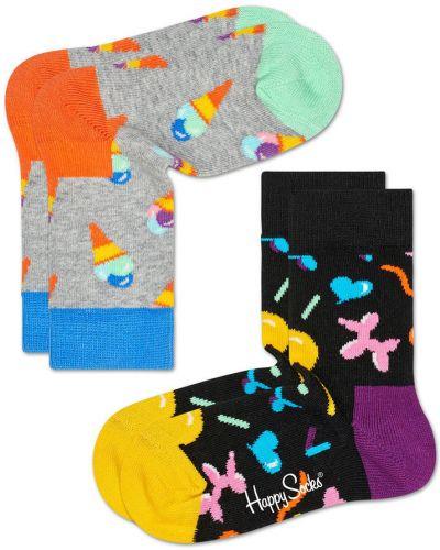 Колготы серые Happy Socks