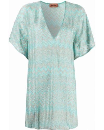 Пляжное платье - зеленое Missoni