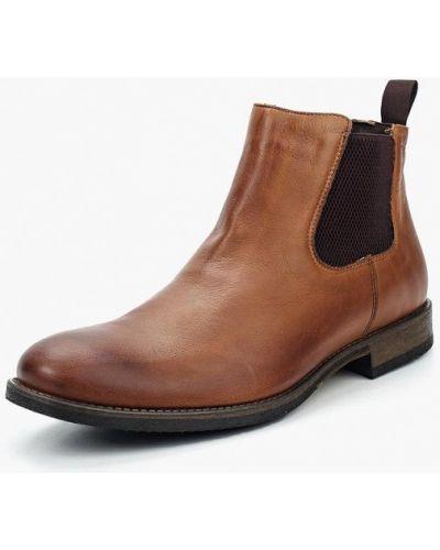 Ботинки челси осенние кожаные Wojas
