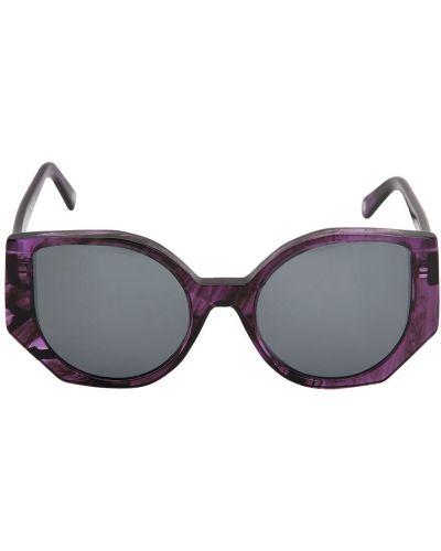Fioletowe okulary Ophy