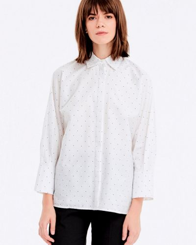 Белая рубашка с длинным рукавом Musthave