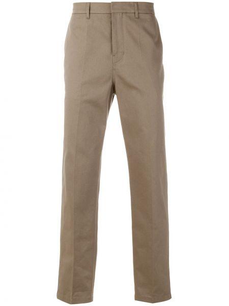 Желтые классические брюки с поясом Golden Goose