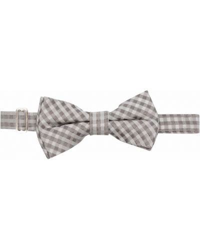 Серый галстук-бабочка в клетку с бабочкой Woolrich Kids