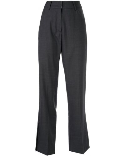 Свободные брюки с поясом мятные Kimhekim