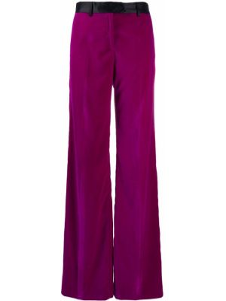 Расклешенные шерстяные брюки с карманами Paul Smith