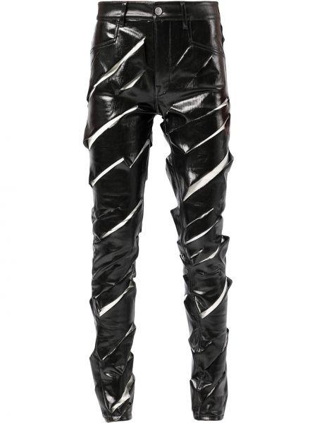 Spodnie bawełniane - białe Rick Owens