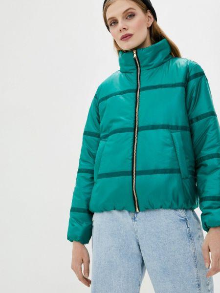 Теплая зеленая утепленная куртка Vivaldi