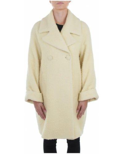 Beżowy długi płaszcz Beatrice B