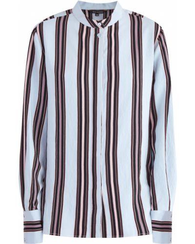 Блузка с воротником-стойкой асимметричная Tara Jarmon