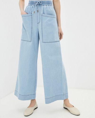 Расклешенные широкие джинсы Francesco Donni