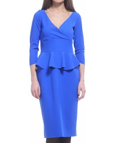 Платье осеннее синее Chiara Boni La Petite Robe