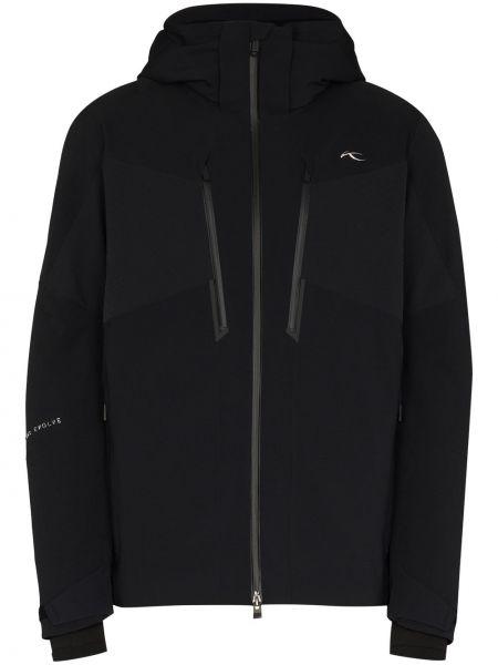 Куртка с капюшоном - черная Kjus
