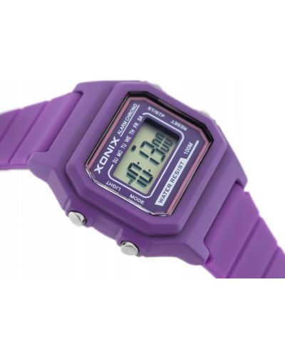 Fioletowy zegarek sportowy Xonix