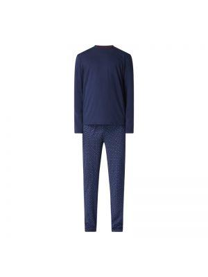 Niebieska spodni piżama bawełniana Christian Berg Men