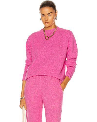 Розовый кашемировый свитер The Elder Statesman