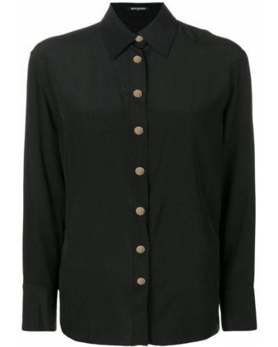 Классическая рубашка с длинным рукавом на пуговицах Balmain