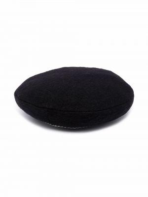 Czarna czapka z daszkiem Simonetta