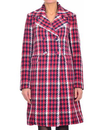 Акриловое пальто с капюшоном Pinko