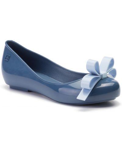Niebieski baleriny Zaxy