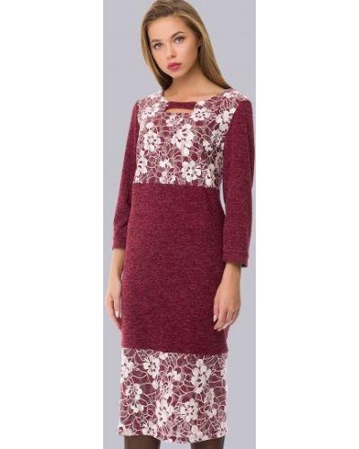 Платье миди с декольте повседневное Amarti