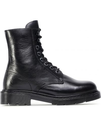Ботильоны на каблуке - черные Dockers By Gerli