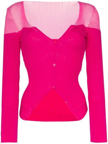 Кардиган розовый Jacquemus